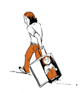 suitcase ride